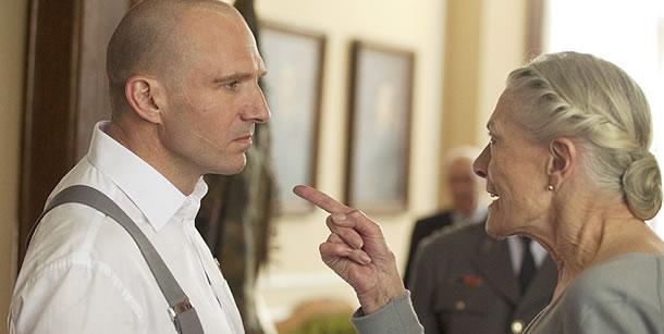 Ralph Fiennes and Vanessa Redgrave in Coriolanus (2011)
