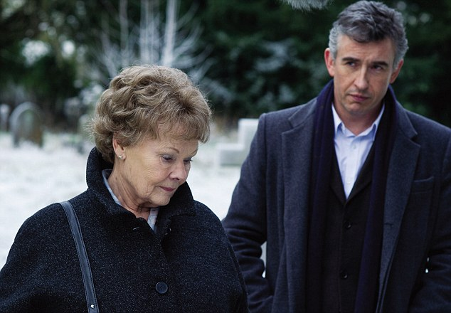 Philomena (2013), directed by Stephen Frears and starring Judi Dench and Steve Coogan.