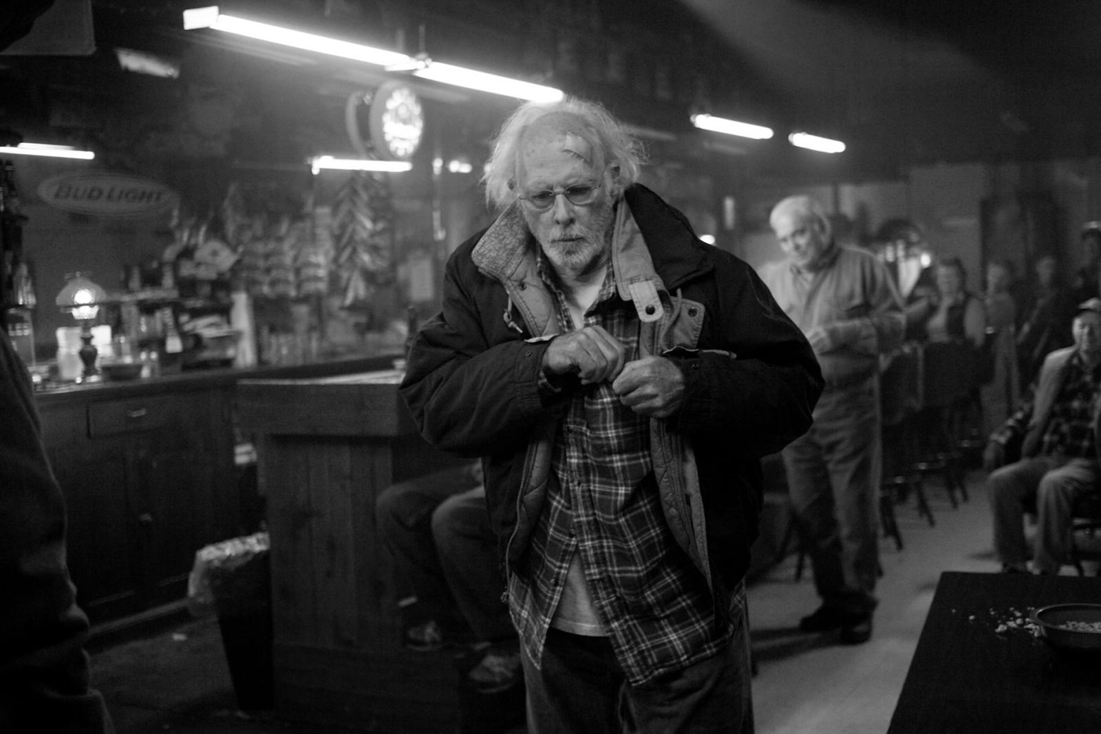 Nebraska (2013), directed by Alexander Payne and starring Bruce Dern and Will Forte.