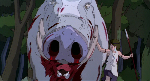 THE CHARACTER OKKOTO-NUSHI IN PRINCESS MONONOKE (1997)