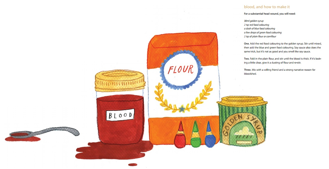 Fake Blood recipe - Oh Comely Issue Six