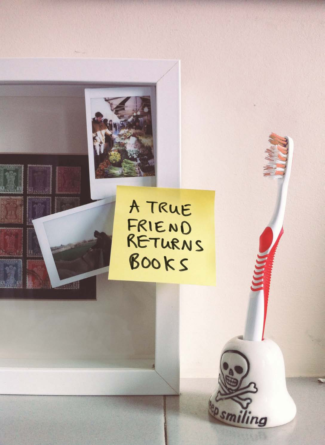 The Post-it Note Liberation Front, published in Oh Comely Issue Nineteen