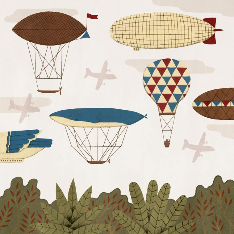 Come ride with me on my dirigible, published in Oh Comely Issue Seven