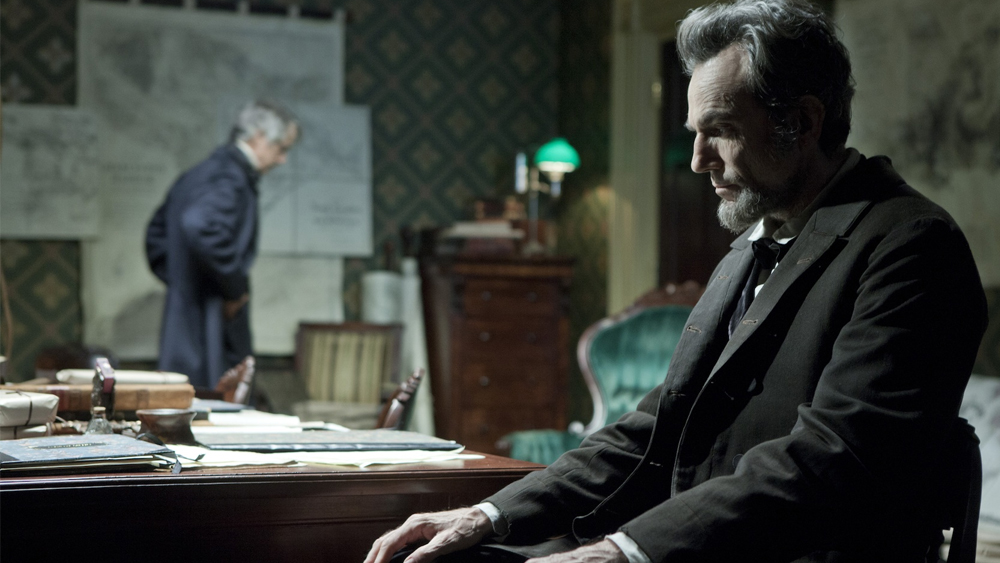 Lincoln (2013), directed by Steven Spielberg and starring Daniel Day-Lewis.