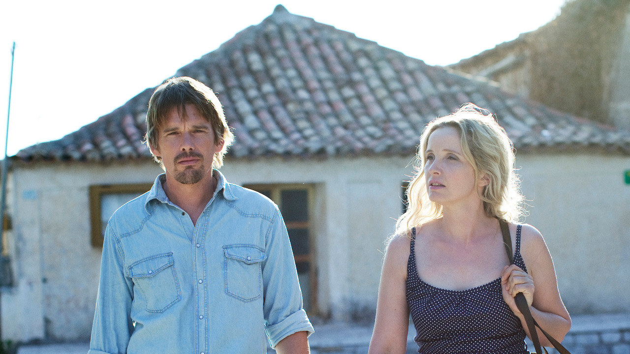 Before Midnight (2013), directed by Richard Linklater and starring Julie Delpy and Ethan Hawke.