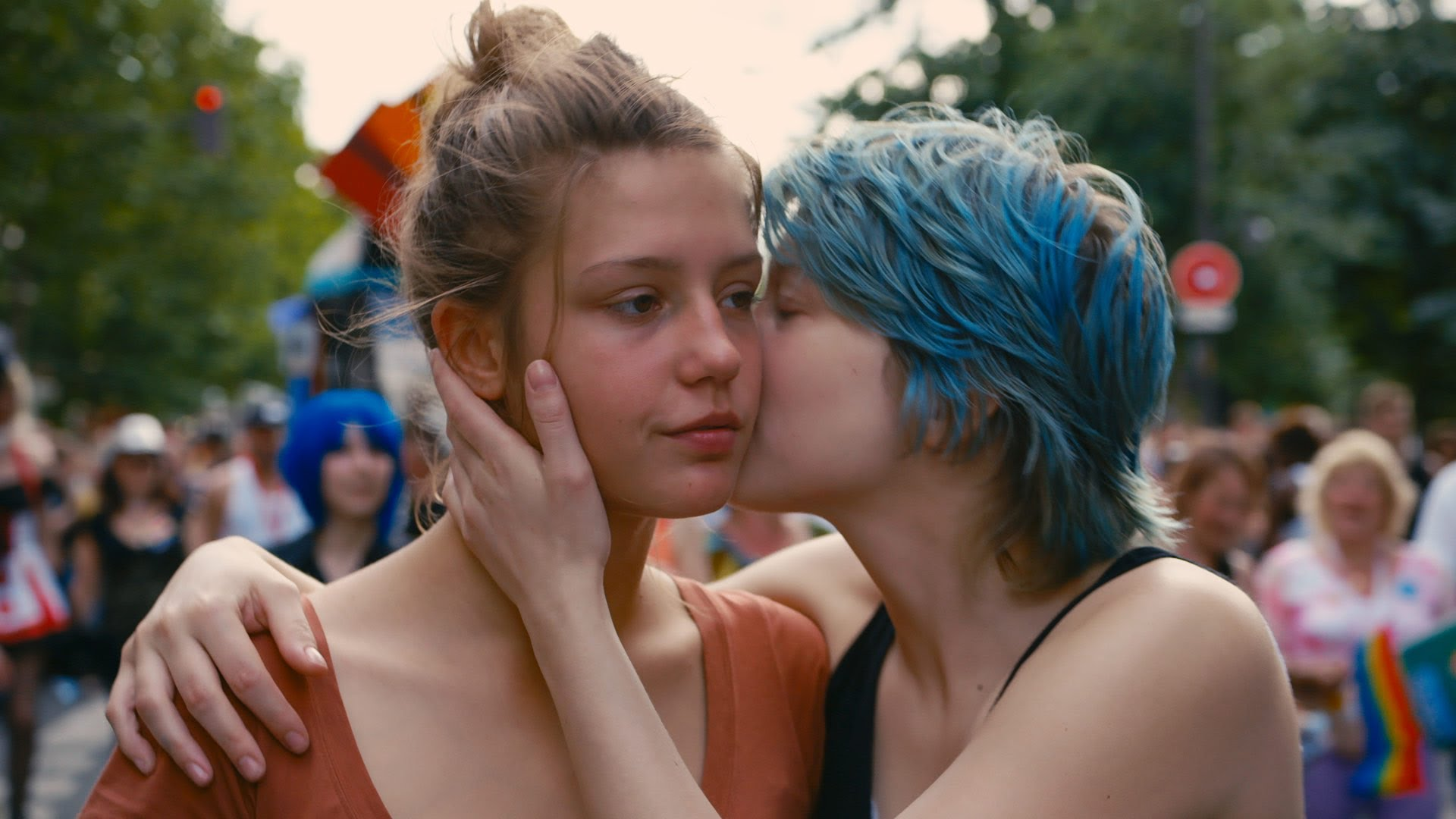 Blue is the Warmest Colour (2013), directed by Abdellatif Kechiche and starring Adèle Exarchopoulos and Léa Seydoux.