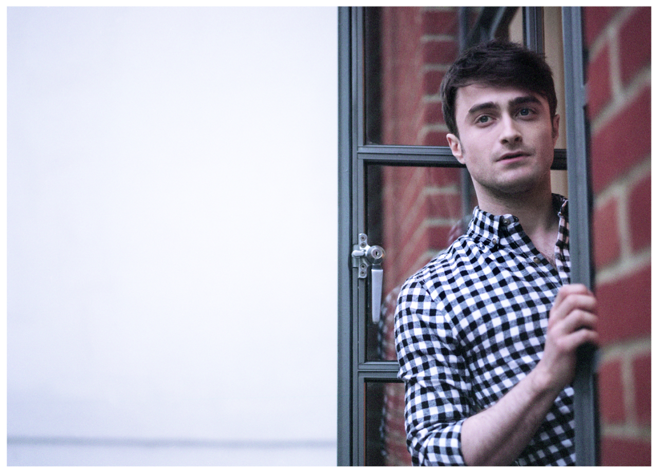 Daniel Radcliffe (What If?) interview, published in Oh Comely Issue Twenty-One. Photographs by Liz Seabrook.